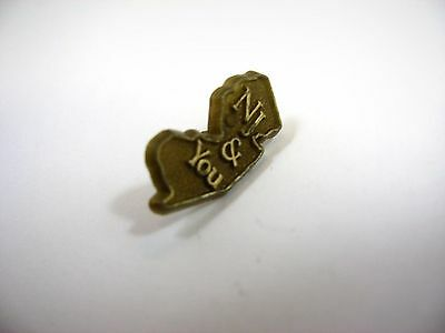 Vintage Collectible Pin: NJ & You New Jersey