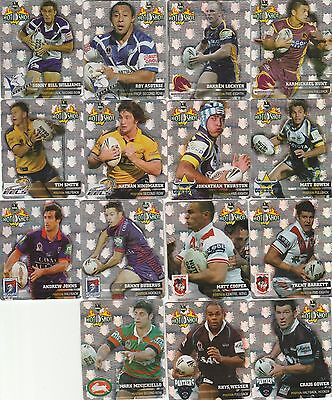 30/30  Smiths Rugby League Tazo Hot Shots
