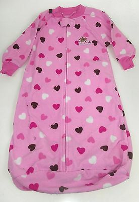 Girl's 0-9 Months Pink Sleep Sack by Carter's Wearable Blanket FREE SHIPPING