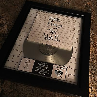 Pink Floyd The Wall Album Platinum Record Disc Album Music Award RIAA