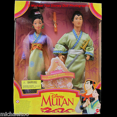 Disney Mulan And Li Shang Hearts Of Honor 2 Doll Gift Set Nrfb International Ver