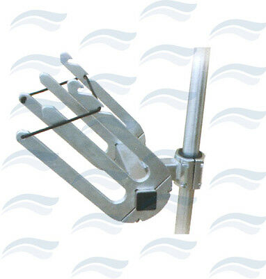 Support Wake Incline Alu Pour Tube Ø 42 A 48 Mm