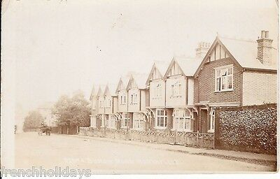 Collectable vintage postcard of Burch Road, Northfleet nr Gravesend, Kent
