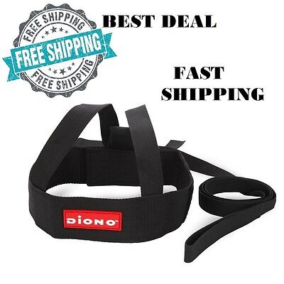 Baby Toddler Safety Leash Kids Walking Harness Sure Steps Child Belt Black NEW