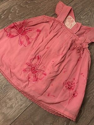 Lovely Next Pink Top 12-18 Months