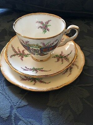 Royal Stafford Bone China Tartan Series MacDuff Trio
