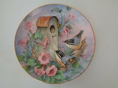 Royal Doulton Nuthatch Nook Carolyn Shores Wright Limited Edition Plate