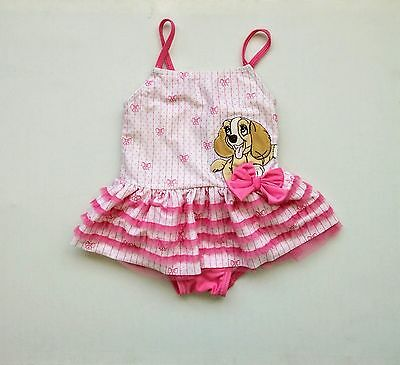 Disney Lady and the tramp tutu swimming costume 12-18 months