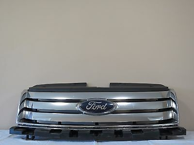 ✅ 08-09 2008-2009 Ford Taurus X Front UPPER Radiator Grille Face w/ Emblem OEM