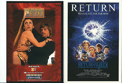 Star Wars - Return of the Jedi - Widevision Box Topper Mini-Poster 4x6 Card 3/6