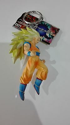 Dragon Ball Z Goku Gokou Ss3 Key Chain Figure Figura Llavero