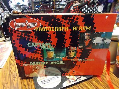 Captain Scarlet photo album-as new-gerry anderson-thunderbirds