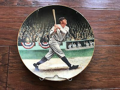 Brent Benger Babe Ruth Limited Edition Plate Delphi 1992