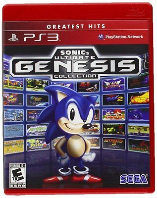Sonic Ultimate Genesis Collection Ps3 Playstation 3 ORIGINAL Video Games Kids