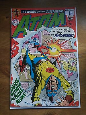 Atom # 36 Duel Between the Dual Atoms ! VG+ condition  Stcker on Cover !!