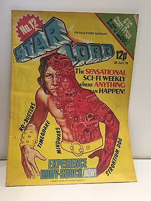 Starlord Issue 12- 29th of June 1978 Comic Bagged + Free PP