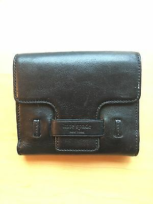 KATE SPADE New York Genuine Black Leather Bifold Wallet