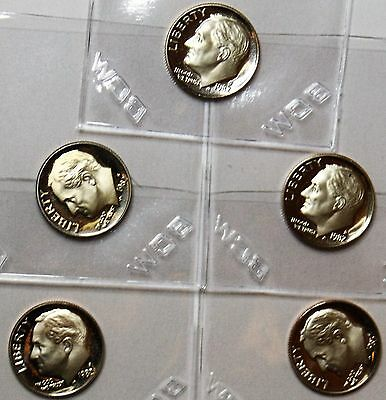 1982 S 10C Proof Roosevelt Dime - FREE SHIPPING