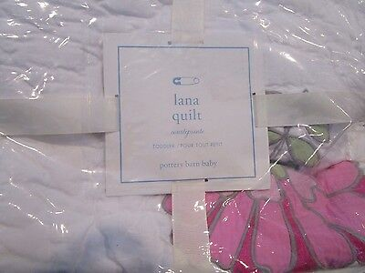 Pottery Barn Kids Lana crib quilt and  small sham   New