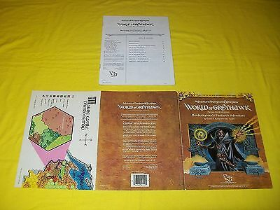 Wg5 Mordenkainen's Fantastic Adventure Dungeons & Dragons Ad&d Tsr 9112 1 Module