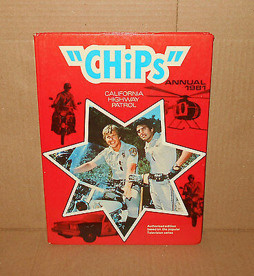 CHIPS ANNUAL (1981) *Good Condition*