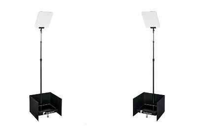"""Autocue 17"""" Presidential Podium Teleprompter System"""