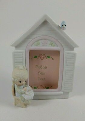 1981 Precious Moments Porcelain Picture Frame Mother So Dear