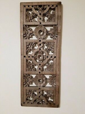 Old fashion wooden decoration on walls 11 x 29inch