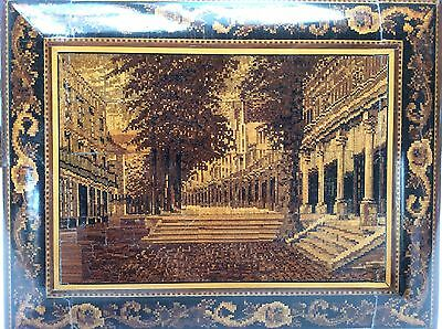 Top quality Tunbridge Ware box with view of THE PANTILES ! Henry Hollamby