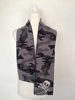 "Gap Kids Skull Fleece Green Camouflage 52"" X 6"" Winter Fall Spring"