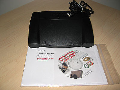 HTH Engineering Start-Stop Universal Transcription software with USB Foot Pedal
