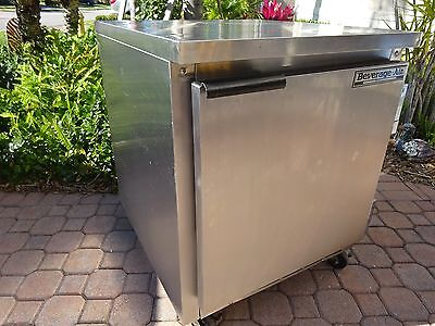 "Beverage Air 27"" Work Top Freezer Commercial Freezing True Cold !! Wtf-27"