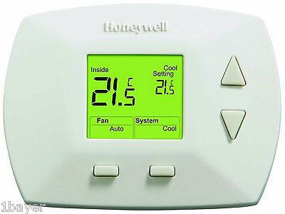 Honeywell Home Office Room Temperature Control Range Manual Thermostat Monitor