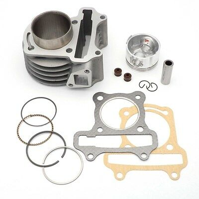 50cc to 72cc Big Bore Cylinder Barrel Kit for Chinese Scooter Jinlun Benzhou