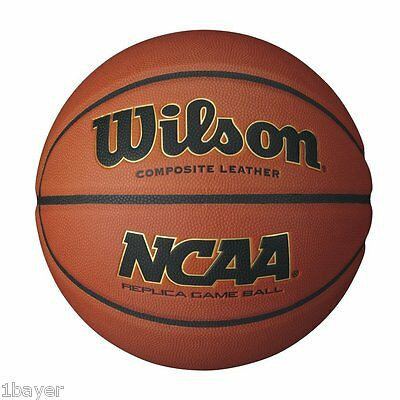 Wilson B0730 NCAA Replica Game Ball Basketball - Size 7