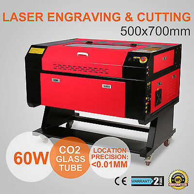 Laser Engraver Engraving Machine 60W Co2 U-Flash Glass Tube Arts Ce Approved