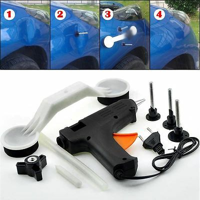 Auto Car Body Paintless Hail Repair Dent Lifter Puller Ding Removal Tools Kit