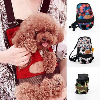 Small Dog Puppy Pet Cat Pouch Front Bag/Back Pack Legs Out Backpack Carrier Bag