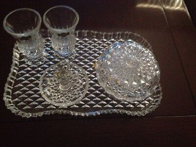 Crystal D'Adriana 5 Pieces Vintage Set