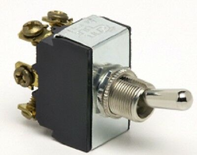 COLE HERSEY 5592 DPDT On-Off-On Toggle Switch 25A @12V, 15A @ 24V DC  6 Terminal