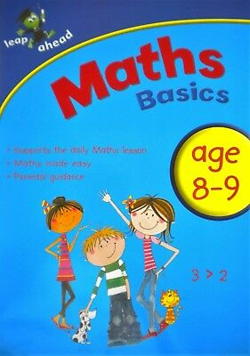 Maths Basics 8-9 childrens book new parental guidance leap ahead new