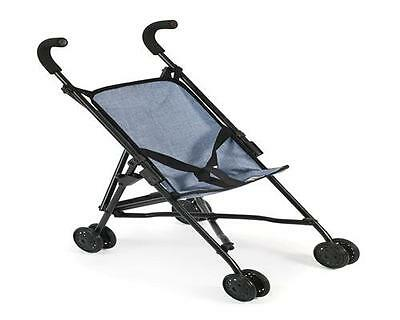 Bayer CHIC 2000 Mini-Buggy Puppenbuggy Puppenwagen Roma Blue 60150