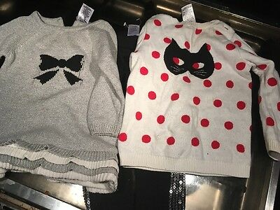 size 1 girls jumpers