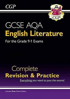 New GCSE English Literature AQA Complete Revision & Practice (Grade 9-1) - CGP