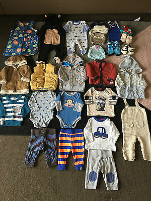 Bulk lot 000 baby boys winter clothes Seed Cotton On Gap Patch