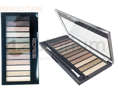 Perfect Makeup Revolution London  Iconic 2 Eyeshadow Palette Naked Dupe New