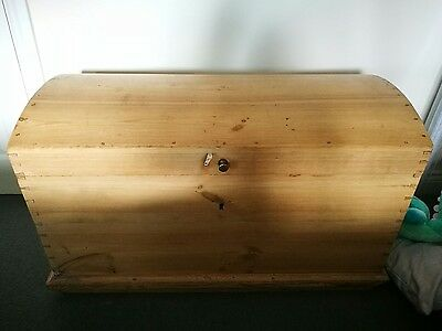 Vintage Rustic Trunk /Chest /Blanket box