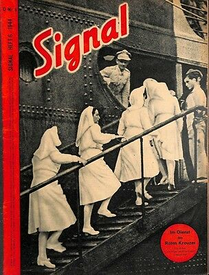 5381	 SIGNAL	-No.	D	6-1944	 SIGNAL German issue - illustrated german magazine	We