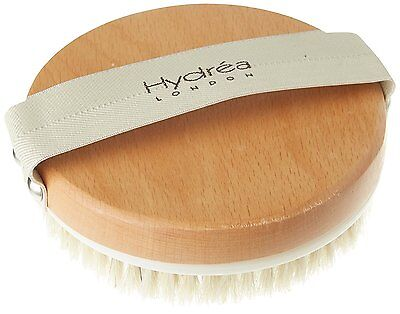 New Hydrea London Lymphatic Detox Brush with Natural Bristle and Rubber Nodules