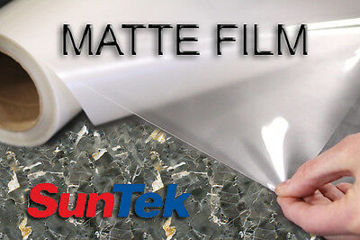 "Suntek PPF Paint Protection Film Bulk MATTE Clear Bra 60"" By The Foot"
